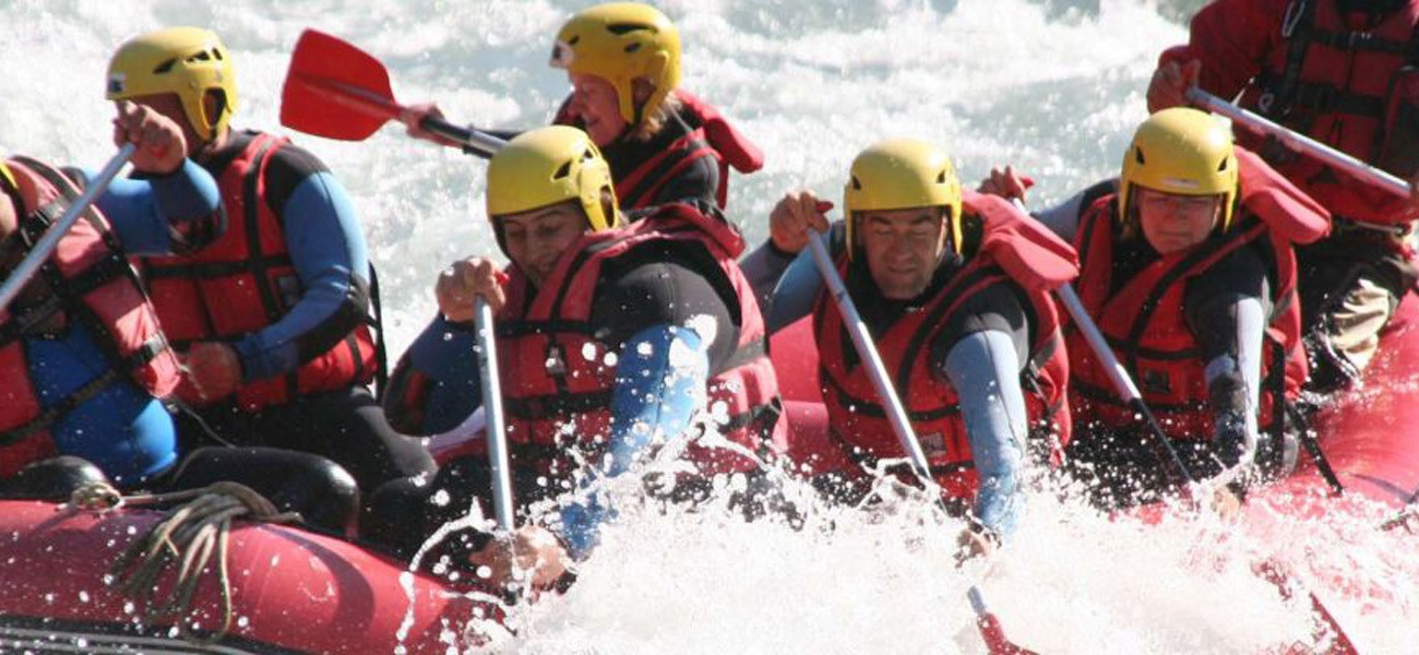 Activities at the Lake Carouge Camp - Rafting in Savoie
