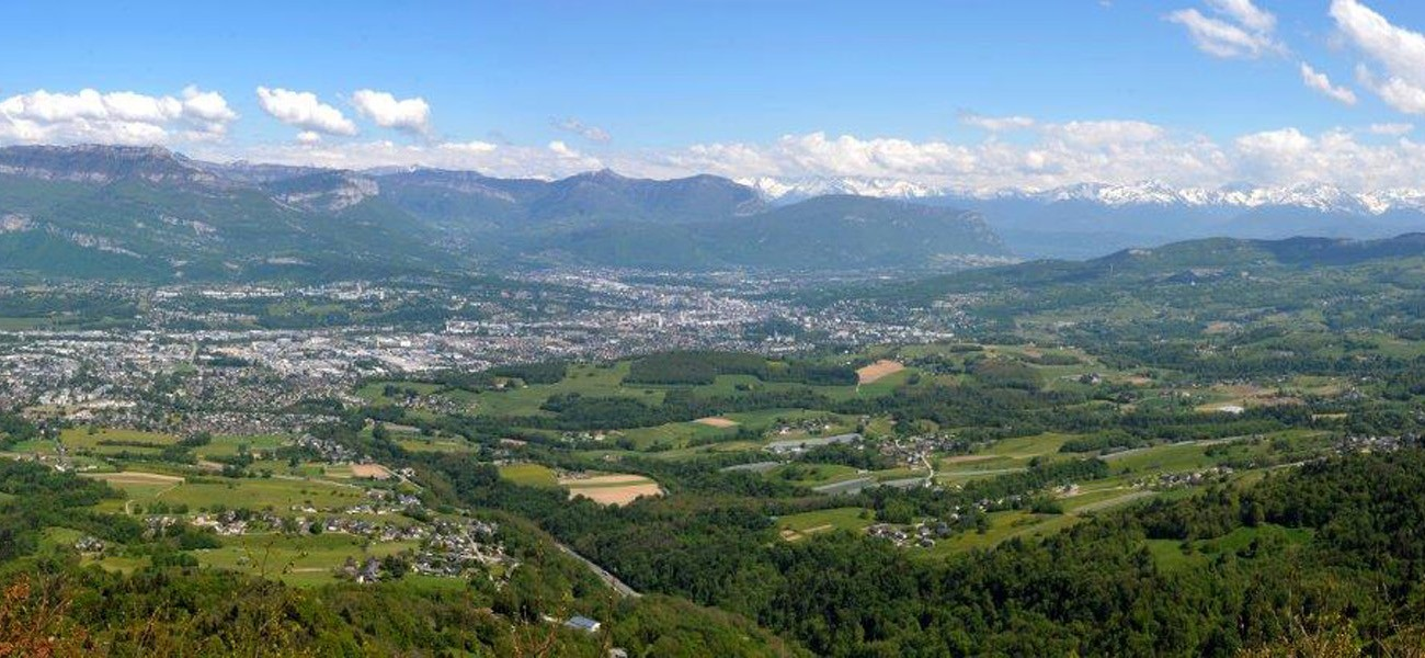 Camping in Savoie - View of Chambéry