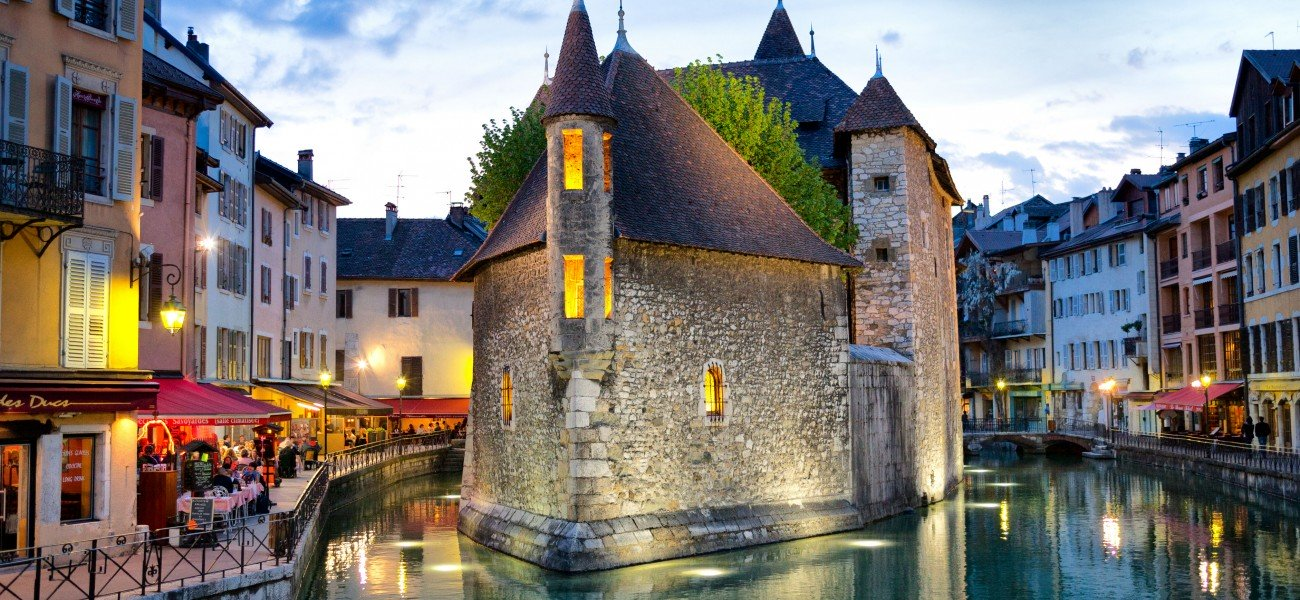 Camping in Savoie - Annecy, the old prison